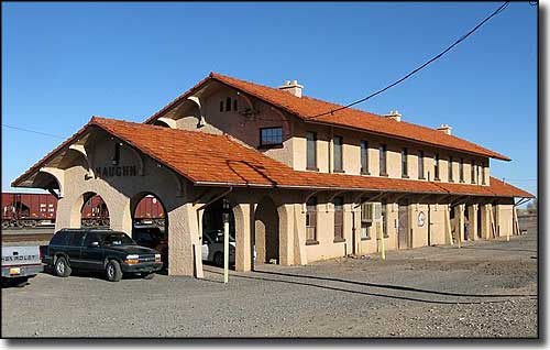 The Vaughn Railroad Depot