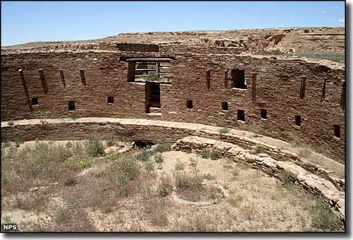 The Grand Kiva at Casa Rinconada, Chaco Culture National Historical Park