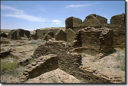 Kin Bineola Ruins, Chaco Culture National Historic Park