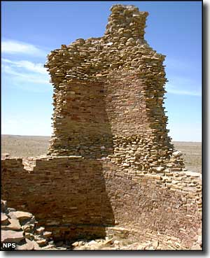 Kin Ya'A Tower at Chaco Culture National Historical Park