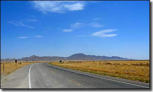 Much of Valencia County outside the Rio Grande Valley looks like this