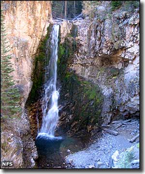 Bullion Canyon Falls, Fishlake National Forest