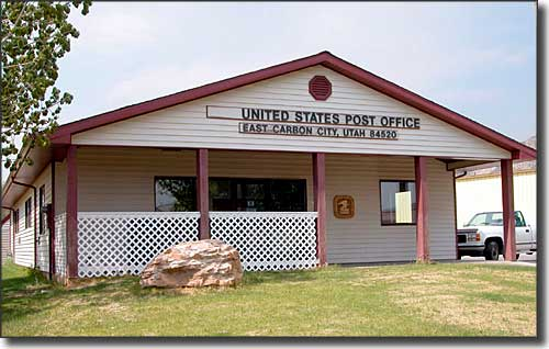 East Carbon, Utah Post Office