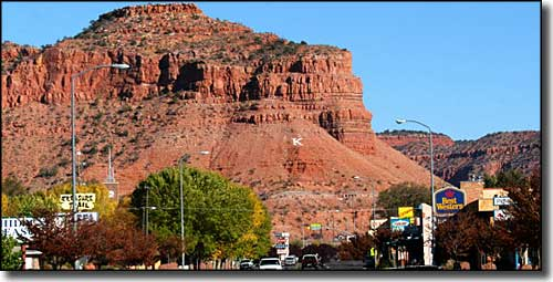 Downtown in Kanab