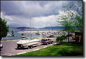 Bear Lake State Park Marina near Garden City
