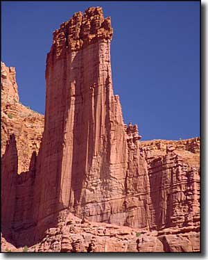 Fisher Towers, along the Upper Colorado River Scenic Byway