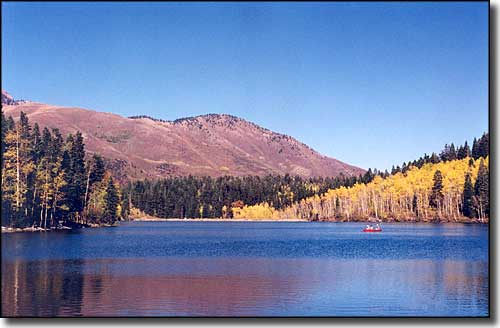 One of the Payson Lakes, along the Nebo Loop Scenic Byway