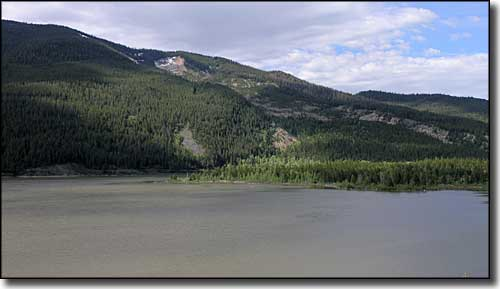 Slide Lake in Gros Ventre Wilderness